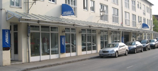 Insolvenzverfahren:  Modehaus Maier GmbH